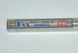 NACHI FAX SG SERIES BALL END MILL UC23 R4.8mm
