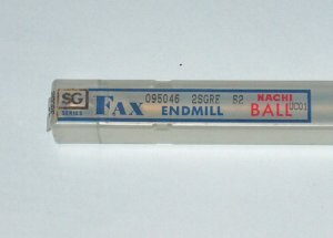 NACHI FAX SG SERIES BALL END MILL UC01 R5.1mm