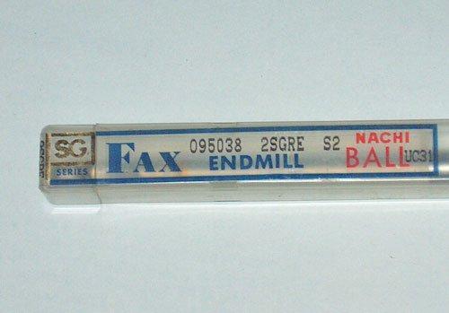 NACHI FAX SG SERIES BALL END MILL UC31 R4.1mm