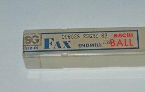NACHI FAX SG SERIES BALL END MILL UC28 R7.2mm