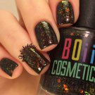 He rescued me from the galaxy- chrome glitter flake Holographic nail polish - Boii Nail polish