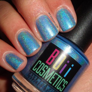 Glitter in the sky holographic nail polish - boiicosmetics