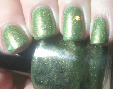 Boii Nail polish Green hulk man