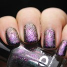 Ultrachrome flakies Galaxy  Pink, Purple, Blue, Gold UCC Flakies  - Boii Nail polish