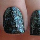 green flakie  Glitter Polish - Boii Nail polish