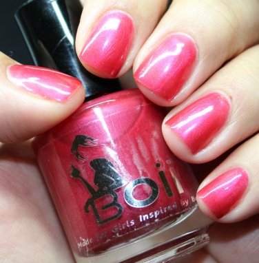 seductive in red - Boii Nail polish