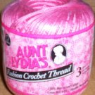 Aunt Lydia's Fashion Crochet Thread 3 - Warm Rose