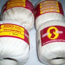 South Maid Crochet yarn white