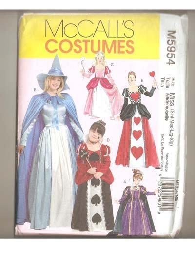 McCall's Costume M5954