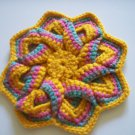 Crocheted  coaster/trivet