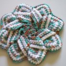 Crocheted coaster/trivet