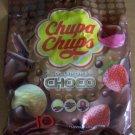 Chupa Chups Lollipops 3 Choco Flavoured Candy 100pcs (10 bag)