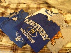 University of Kentucky Men's T-Shirts SZ M-L
