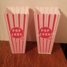 Red & White Popcorn Holders