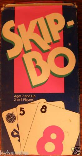 Skip-Bo Family Card Game