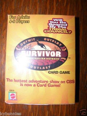 Survivor Playing Card Game