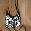 Small Black & White Woman's or Kids Strap Purse