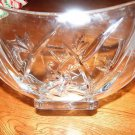 Waterford Lead Crystal Glass Bowl Bamboo Collection