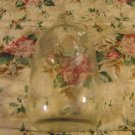Clear Glass Syrup Soda Fountain Bottle w/Glass Handle
