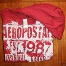 Aeropostale Red Pullover Hoodie NWT-SZ Medium