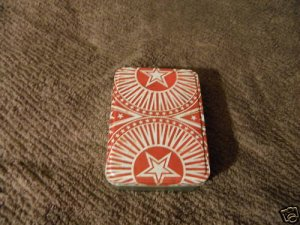 Collectible Marlboro Tin with Playing Cards & Dice New