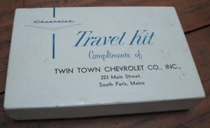 Promotional Chevrolet Dealer Travel Kit