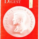 John F Kennedy 1961 Democratic Digest Inaugural Issue