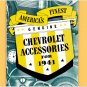 1941 Chevrolet Accessories Booklet