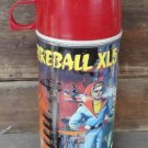 FIREBALL XL5 TALL STEEL THERMOS, 1964, Television Collectible