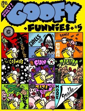 GOOFY FUNNIES #5 Dexter Cockburn Underground Comix