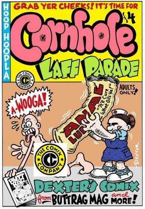 CORNHOLE LAFF PARADE - Dexter Cockburn Underground Comix