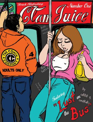 CLAMJUICE #1 - Carrie Q Contrary Underground Comix