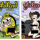 GLADHAND COMIX DOUBLE DOWN - Underground Comix JAY BEE