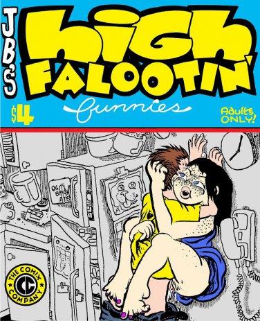 HIGH FALOOTIN' FUNNIES - JAY BEE Underground Comix