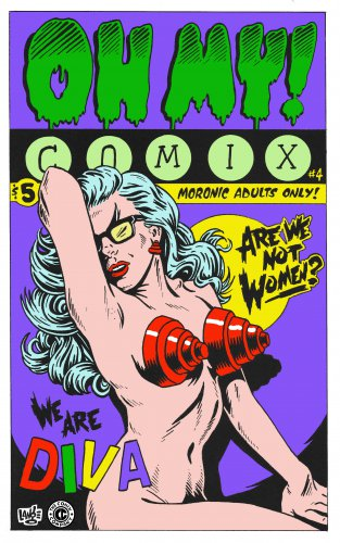 OH MY! COMIX #4 - Underground Comix Anthology