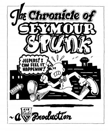 SEYMOUR SPUNK COVER PAGE - Original Art Dexter Cockburn