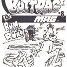 BUTTRAG MAG #8 COVER ART - Dexter Cockburn Underground Comix