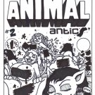 ANIMAL ANTICS #2 COVER ART - Dexter Cockburn Underground Comix