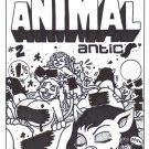 ANIMAL ANTICS #2 COVER ART - Dexter Cockburn Underground Comix