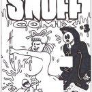 SNUFF COMIX #3 COVER ART - Dexter Cockburn Underground Comix