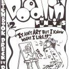 DOODLIN FUNNIES #1 COVER ART - Dexter Cockburn Underground Comix