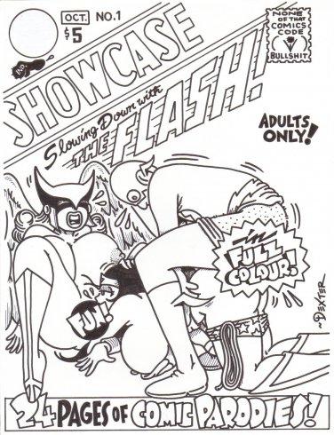 CC SHOWCASE COVER ART - Dexter Cockburn Underground Comix