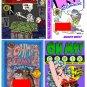 OH MY! COMIX #1 - 4 - Underground Comix Anthology