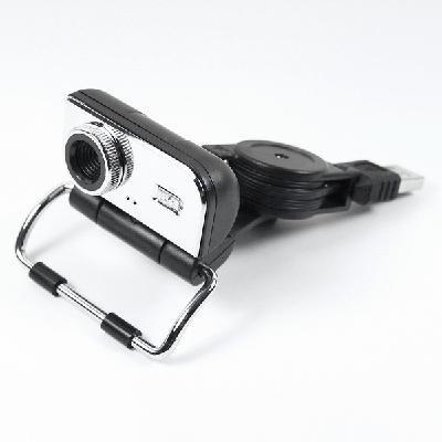 5.0 MP USB Webcam Web Camera for Laptop w/Stand Black