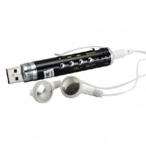 MP3 Gadget Pen + Spy Device - 2GB Flash Disk Design