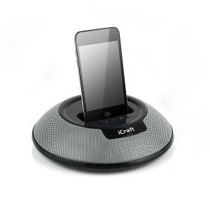 Music Dock Speaker System for iPod iPhone W/ Remote