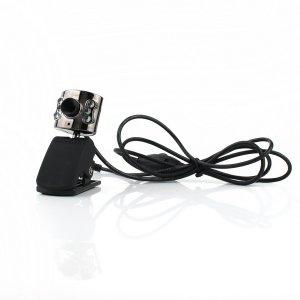 10 MP USB 2.0 6 LED Webcam PC Camera W/ Clip