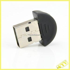 Smallest USB 2.0 Mini Bluetooth V2.0 EDR Dongle Adapter