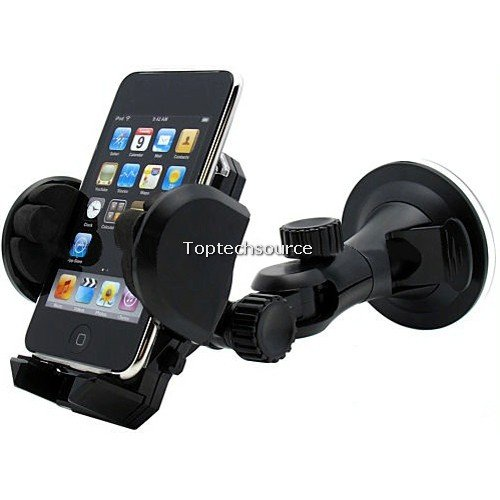 Cheap Universal Car Mount  for iPhone Cell Phone MP4 PDA GPS