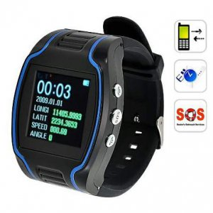 CRT19N GPS Tracker Wrist Watch Real-time GSM GPRS Security Surveillance Quad Band SOS